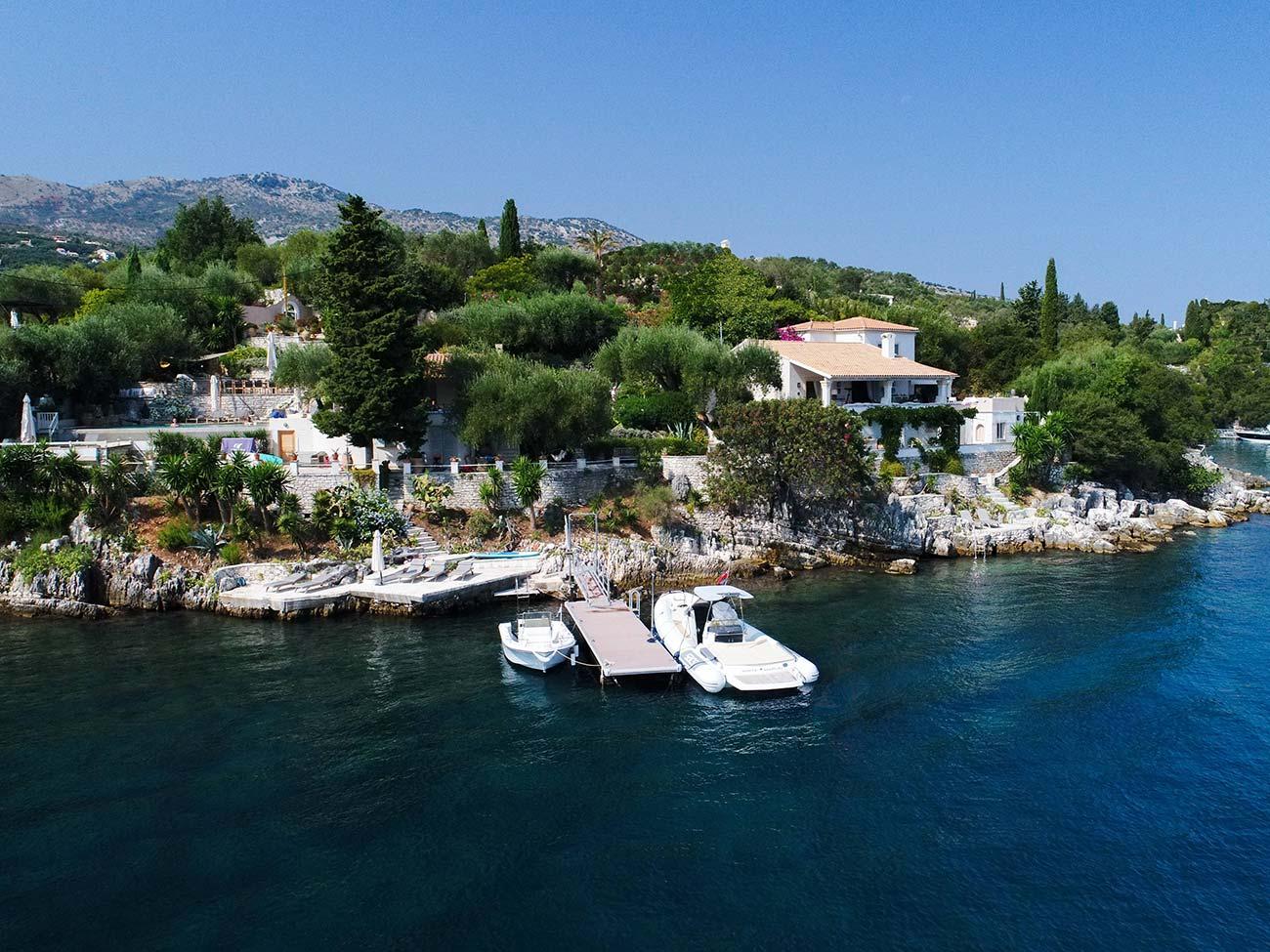 Holidays Villa Renovation | Alberto Artuso | Architect in Corfu
